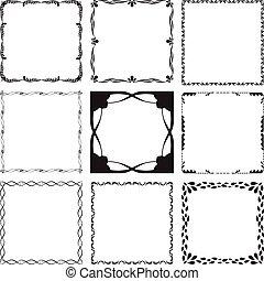 Decorativa estructura fronteriza