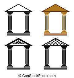 decorativo, arches.