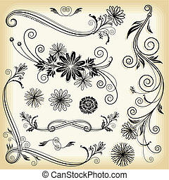 Decorativos florales