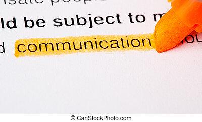 Def de comunicación