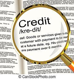 definición, cashless, actuación, pago, credito, lupa, préstamo, o