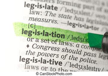 definición, destacado, legislación