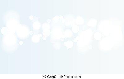 defocused, vector, fondo., bokeh, festivo, lights., resumen