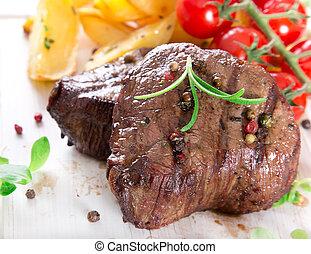 Delicioso bistec