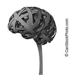 demencia cerebral humana