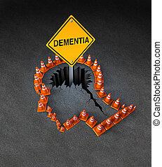 Demencia discapacitada