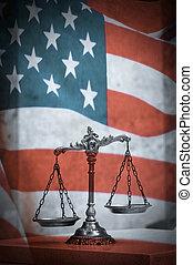 Derecho americano y justicia