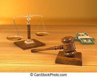 Derechos. Juez Didl, escala y dinero