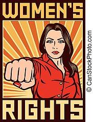 derechos, womens, cartel