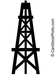 Derrick de petróleo