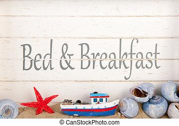 desayuno, cama