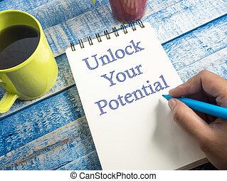 Desbloquea tu potencial, motivacional frases inspiradoras