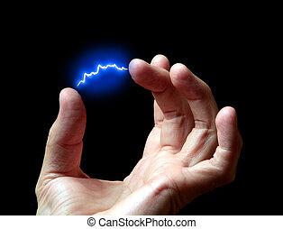 descarga, eléctrico