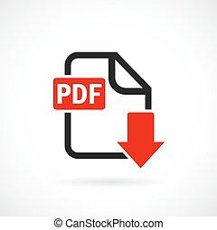 Descarga el icono del archivo PDF