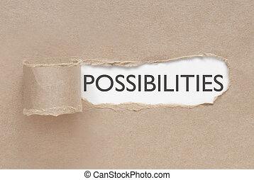Descubrir posibilidades