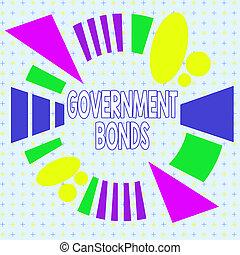 design., multicolor, formato, actuación, gobierno, señal, foto, gasto, deuda, asimétrico, conceptual, issued, objeto, contorno, patrón, texto, desigual, formado, apoyo, seguridad, bonds.