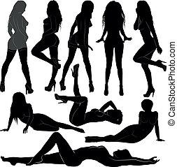 desnudo, mujeres