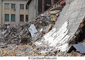 desperdicio, demolición