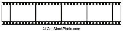 detallado, verdadero, visible, marco, blanco y negro, blanco, aislado, negativo, 35 mm, plano de fondo, rasguños, polvo, grano, blanco, muy, película
