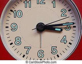 Detalle de un reloj