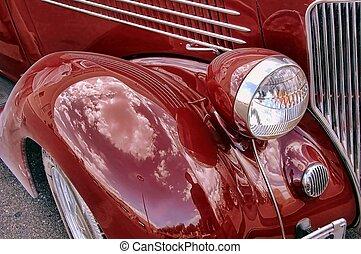 Detalles de autos antiguos