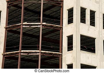 Detalles del edificio de oficinas