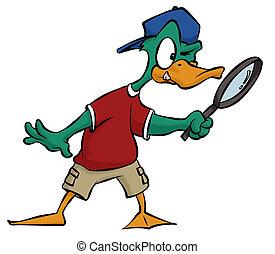 detective, pato