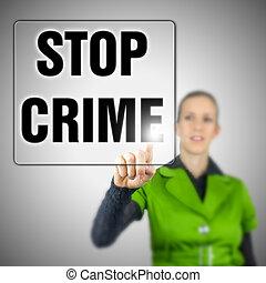 Detener el crimen
