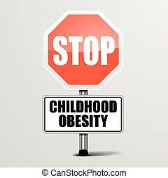 Detener la obesidad infantil