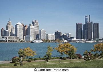 Detroit Skyline de Canadá