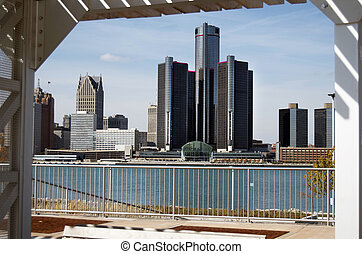 Detroit Skyline enmarcó 2012