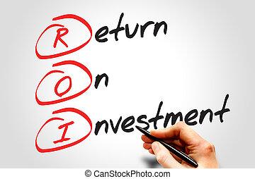 Devolver la inversión