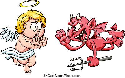 diablo, ángel