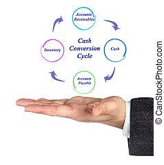 Diagrama de ciclo de conversión en efectivo