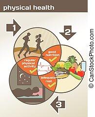 Diagrama de salud física