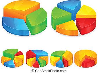 Diagramas circulares color