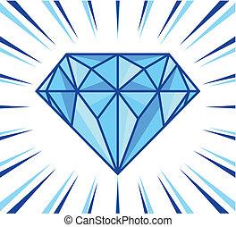 diamante, brillo