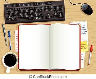 Diario de escritorio rojo de arriba.eps