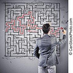 Dibujando la solución