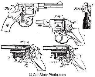 Dibujo de Colt Vintage