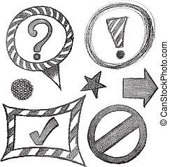 Dibujo del símbolo