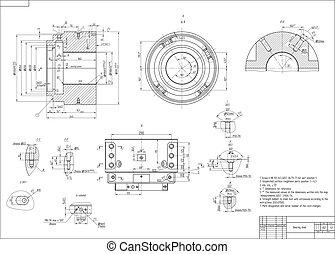 Dibujo para construir máquinas