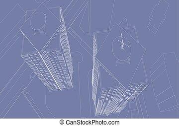 dibujos, arquitectónico