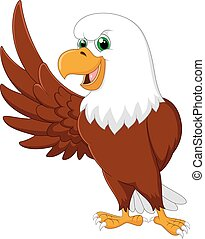 Dibujos de águila ondeando