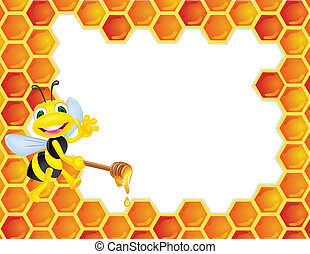Dibujos de abeja