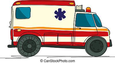 Dibujos de ambulancia