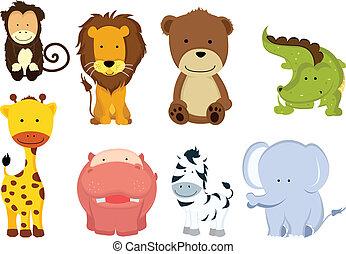 Dibujos de animales salvajes