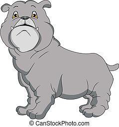 Dibujos de bulldogs ingleses