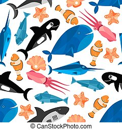 Dibujos de caricaturas de peces sin papel pintado