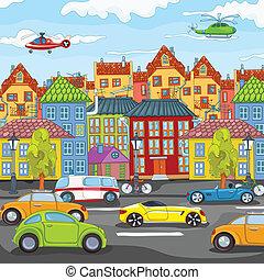Dibujos de ciudad.